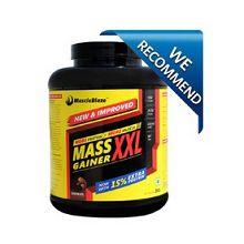 MuscleBlaze Mass Gainer XXL, Chocolate 6.6 lb Rs.1550 From Healthkart