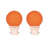 Philips Deco Mini 0.5-Watt B22 Base LED Bulb (Orange and Pack of 2) Rs.144 From Amazon