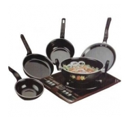 5 PCs Hard Coat Induction Cookware Original Rs.410 From Shopclues