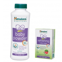 Himalaya Baby Powder 200 g with free Soap 75 g Rs.99 From Snapdeal