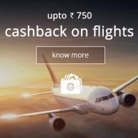 Flights Rs. 750 Cashback (No Minimum Booking) From Ixigo