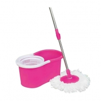 Gabberr Pink Mop with Two Mop Head and Bucket Rs.648 From Snapdeal