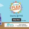 Shopclues Sunday Flea Market (5th to 7th March) + 10% Cashback Using Mobikwik
