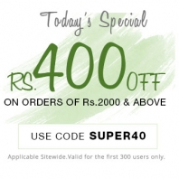 Get Rs.400 Off on Minimum Transaction of Rs.2000 From Pepperfry