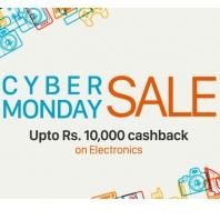 Paytm Cyber Monday Sale - Upto Rs. 10,000 Cashback on Electronics