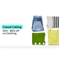 Casual Calling - Flat 50% - 80% Discount on Clothing From Flipkart App