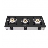 Pigeon Favorite 3-Burner Glass Cooktopv Rs.2199 From Papperfry
