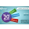 20% Cashback on Recharges and Bill Payments From MobiKwik