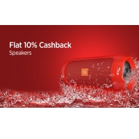 Flat 10% Cashback On Speakers From Paytm