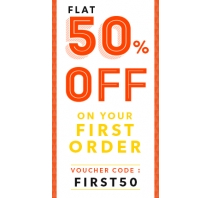 Flat 50% OFF On First Order From Printvenue