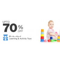 Kids Toys Upto 70% OFF From Kindercart