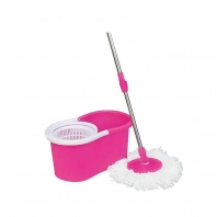 Gabberr Pink Mop with Two Mop Head and Bucket Rs 648 from Snapdeal.com