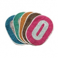 K Decor Set of 4 Door Mats (12 x 18 Inches) Rs.134 From Shopclues