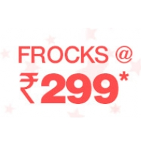 Girls Frocks Flat At Rs.299 From Firstcry