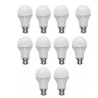 Birdy Combo Of 10 White Plastic LED Bulbs - 3 W Rs.369 From Rediffshopping