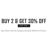 Buy 2 & Get 30% OFF From Zivame