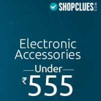 Electronic Accessories Under Rs.555 From Shopclues