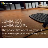 Lumia 950/950XL & Get the Microsoft Display Dock Free From Amazon