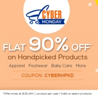Flat 90% Off On Handpicked Products from Firstcry.com