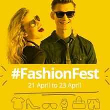 Paytm Fashion Fest Sale 21st - 23rd April : Min.40% OFF & Upto 100% Cashback on Apparel || Footwear || Accessories