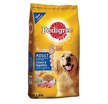 Pedigree Adult Dog Food Chicken & Vegetables - 10 Kg Rs.865 From Dogspot.in