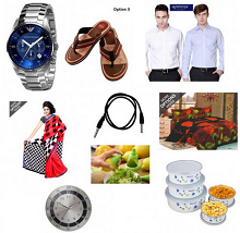 Petro Men Flip Flops Rs. 249, Imported Emporio Armani Watch Rs. 7199, Sty..