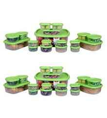 Princeware Virgin Plastic Container Set (18 Pcs) Buy 1 Get 1 Rs.699