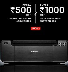 Printers || Scanner Upto 60% OFF + Rs.500 OFF on Rs.5000 || Rs.1000 OFF On Rs.10000 + (Payumoney Rs.50 OFF) From Snapdeal.com