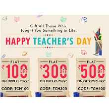 Printvenue Happy Teacher's Day Offer: Get Upto Rs. 500 OFF