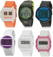 Puma Digital Watches 70% OFF + 28% OFF Starts Rs. 794 From Jabong.com