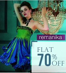 Remanika Clothing Flat 70% OFF From Snapdeal.com