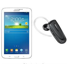 Samsung Galaxy Tab 3 SM-T211 Tablet with Bluetooth Headset (7-inch, WiFi,..