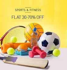Sports & Fitness Products Flat 30% - 70% OFF From Snapdeal
