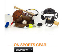 Sports & Fitness Products 83% OFF Starting Rs.49 From Flipkart.com