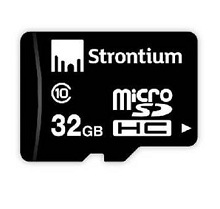 Strontium 32GB MicroSDHC Memory Card (Class 10) Rs.386 From Amazon.in