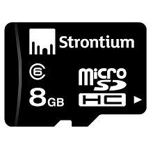 Strontium 8GB MicroSDHC Memory Card (Class 6) Rs.99 (Shipping Rs.40) From Amazon.in