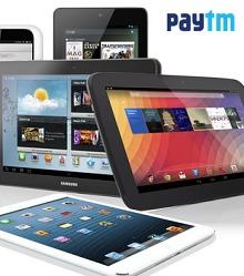 Tablets Extra 15% Cashback From Paytm.com