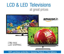 Televisions Upto 43% OFF Starts Rs.6990 From Amazon.in