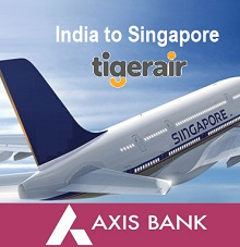 Tiger Air - Fly out of India to Singapore for free!