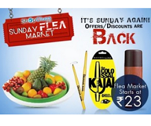 Today\'s Shopclues Sunday Flea Market From ShopClues.com