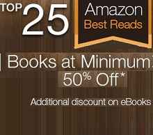 Top 25 Best-Selling Books with 50% OFF From Amazon.in