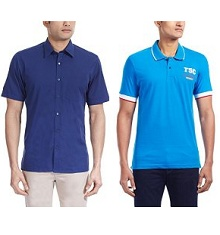 Turtle Men's Clothing 50% OFF + 30% OFF Starts Rs. 179 From Amazon.in