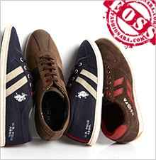 U.S. Polo Assn. Footwear For Men Flat 50% OFF From Fashionara.com