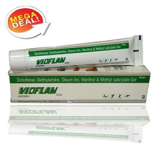 Vioflam Instant Pain relief Gel (For Delhi-Ncr Only) Rs. 22 From Tradus.com