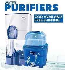 Water Purifiers & Air Purifiers Extra 25% Cashback From Paytm.com