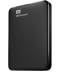 WD Elements 2TB USB 3.0 Portable Hard Disk (Black) Rs.5534 (After Cashback) From Paytm