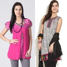 Women's Kurtis 70% off Starting Rs.199 From Flipkart