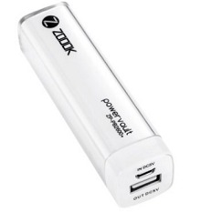 Zoook Mobile Portable Charger 2600mAh ZP-PB2600+ Rs.359 From Amazon.in
